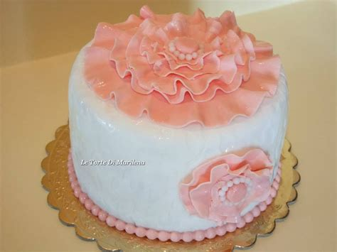 torte fiori pasta di zucchero pasta di zucchero senza glicerina le torte di marilena