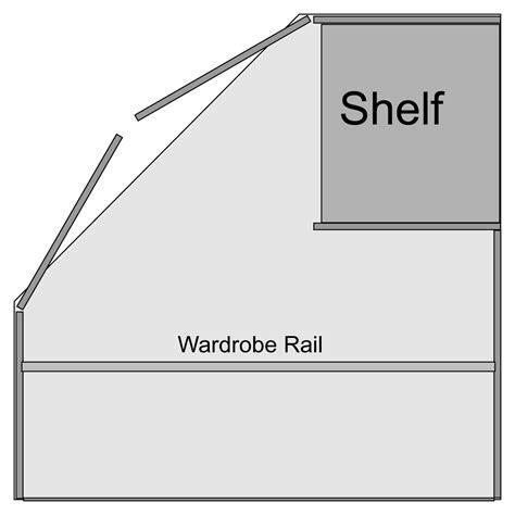 Chester Standard Corner Wardrobe with Sonoma Light Oak Option M1170