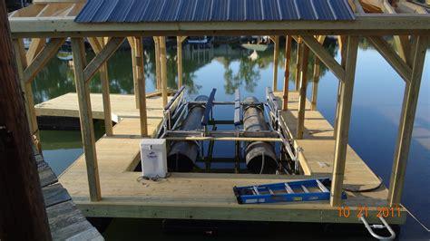 boat house lake norman shore master boat lifts lake norman lkn rhino hoist