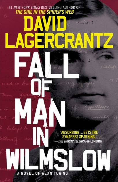 turing biography ebook fall of man in wilmslow by david lagercrantz hardcover