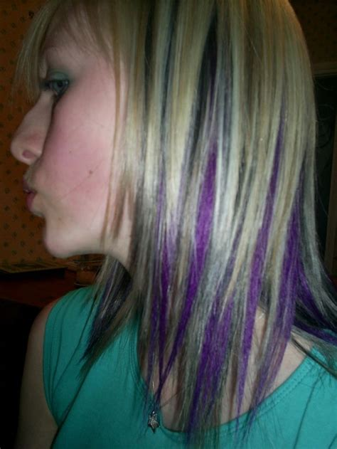 black n purple hair the gallery for gt black with purple blonde hair with purple streaks 17 best images about hair