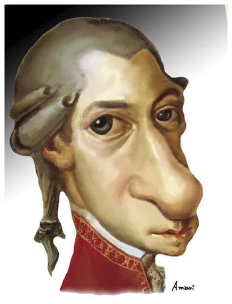 mozart biography cartoon 1000 images about caricatures on pinterest celebrity