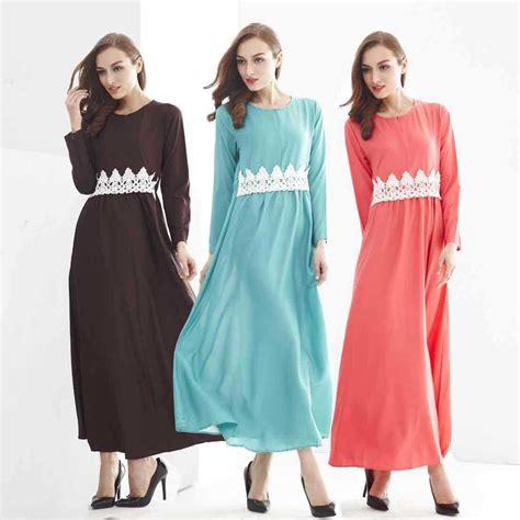 Longdress Muslim Kimono muslim suit casual dress dress lace belt arab