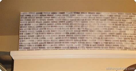 distressed walls tutorial how to install faux brick panels and how to paint and