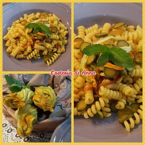 pasta con fiori di zucca giallo zafferano pasta con fiori di zucca zucchine e zafferano l osteria