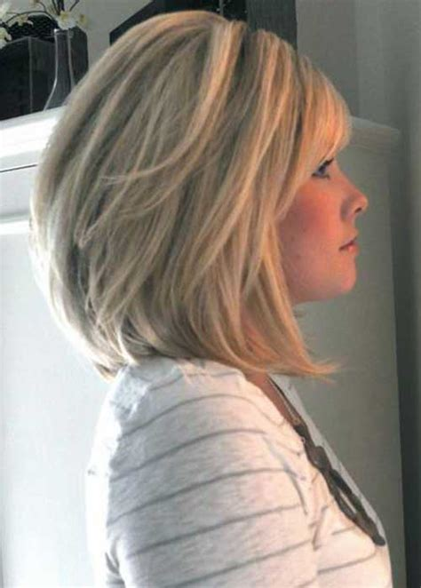 shoulder length inverted bob haircut over 50 short hairstyles for women over 50 with bob in back