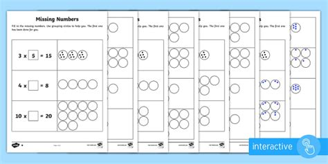 number patterns year 2 interactive year 2 maths times tables missing numbers homework activity