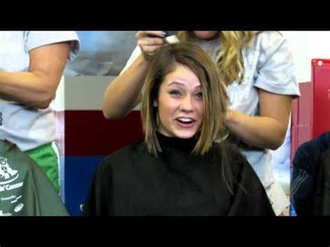 st baldricks women mackenzie shaves her head for charity st baldrick s