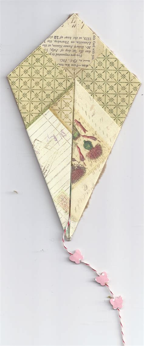 How To Make An Origami Kite - dorothy s origami kite card a by kath kathy harney