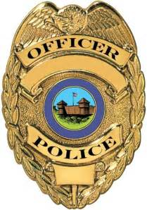 police badge law and government