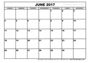 calandar template june 2017 calendar printable template holidays pdf