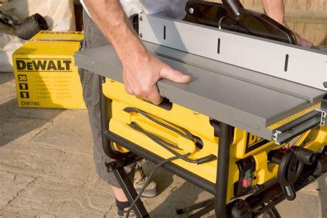 dewalt table saw dw745 dewalt dw745 table saw review 10 inch compact saw 20