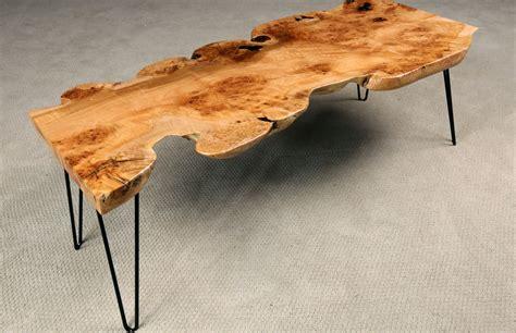 burl coffee table maple burl coffee table by jewell hardwoods