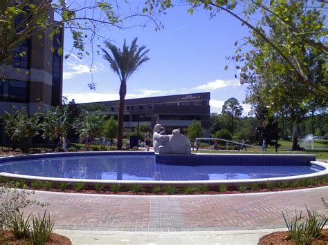 Ofnorth Florida Mba by Unf College Of Health Courtyards Landscape