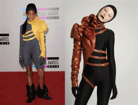 7 Knock Wear by Did Willow Smith Wear A Knockoff To The American