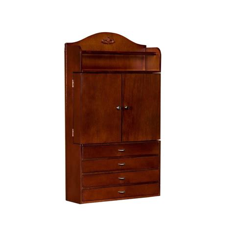 southern enterprises wall mount jewelry armoire southern enterprises andrea wall mount jewelry armoire in