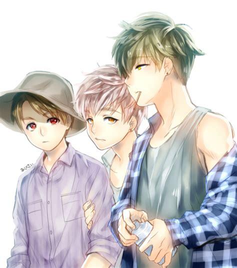 V Anime Fanart by Bts Anime V Jimin Jungkook Kpop Fanart
