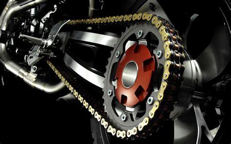cadena de moto limpieza todo sobre la cadena de la moto engrase tensado