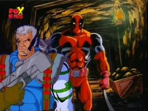 deadpool figure 90s cable and deadpool in the 90s