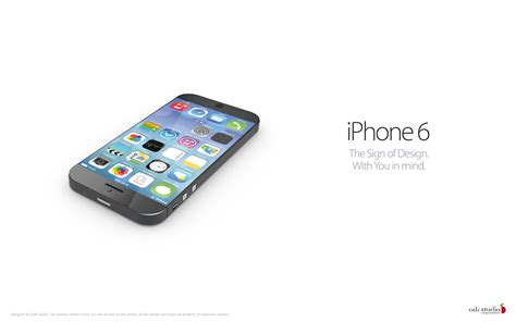 Www Hp Iphone 6 awesome iphone 6 concept with 4 3 inch edge to edge retina 2 display running ios 7