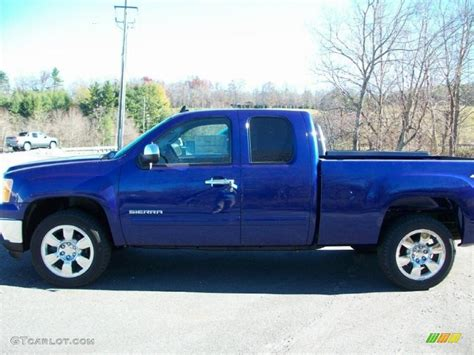 2011 laser blue gmc 1500 sle extended cab 4x4 39503271 gtcarlot car color galleries
