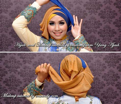 tutorial jilbab ala wisuda segiempat hijab tutorial for summer hijabiworld