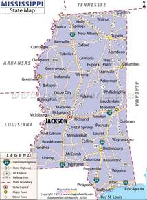 Ms State Map by Map Of Mississippi Cities I Ve Visited Biloxi
