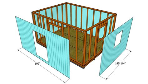 tifany free how to build a shed step by