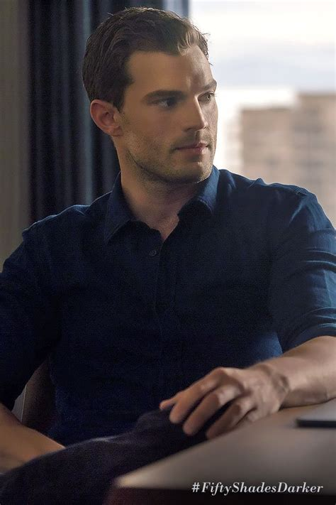 fifty shades darker film jamie dornan christian grey can make any button up shirt look sexy