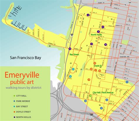california map emeryville emeryville ca map my