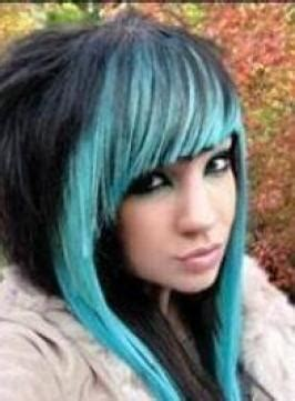 Black And Blue Hairstyles by Pictures Hairstyles Layered