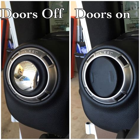 jeep side mirror no doors 17 best ideas about air vent on return air