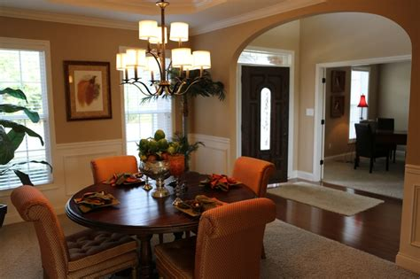 Formal Foyer Decorating Ideas The Formal Dining Room And Entryway Of Our Hudson Model