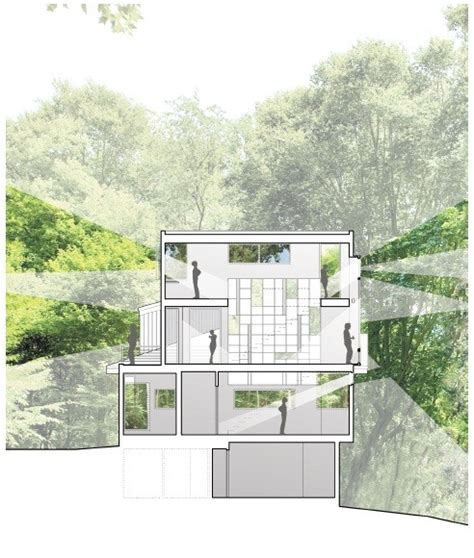 forest house kube architecture archdaily gallery of forest house kube architecture 21