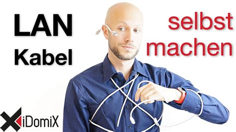 len kabel netzwerkkabel lan selber machen idomix