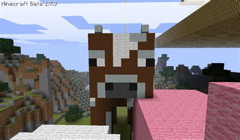 minecraft cow boat my awesome house vs2 plus a shep statue minecraft project