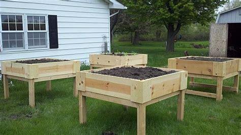 above ground garden box plans above ground planters in