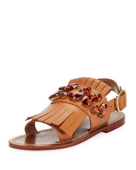 Lr 04 Sandal Flat the best flat fringe sandals on trend for 2017