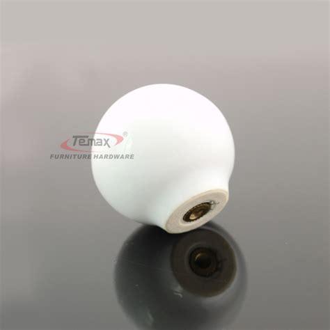 10pcs ceramic kitchen cabinet knobs solid white