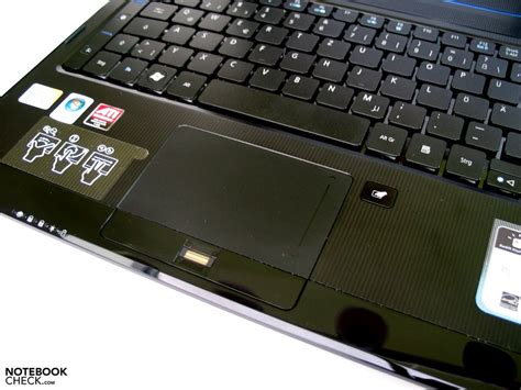Touchpad Acer Aspire review acer aspire 8935g notebook notebookcheck net reviews