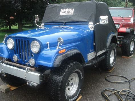 jeep baby blue 1977 jeep cj5 renegade beautiful baby blue jeep with low