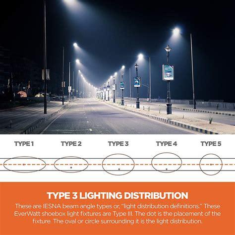 types of commercial outdoor lighting light fixture distribution types light fixtures