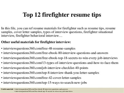 Firefighter Resume Exles by Forum Learn 10 Golden For Essay Writing