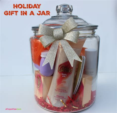 holiday gift in a jar afropolitan mom