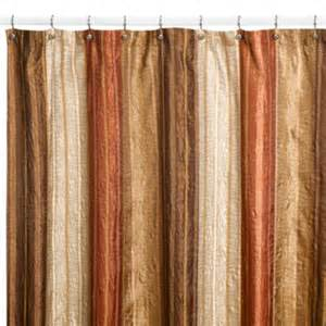 Rust Colored Valances Buy 54 X 78 Fabric Shower Stall Curtain From Bed Bath Amp Beyond