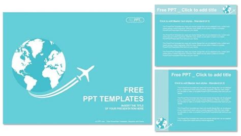 Travel Themed Powerpoint Template Cpanj Info Travel Themed Powerpoint Template