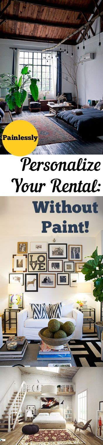 how to decorate a rental home without painting painlessly personalize your rental without paint renter
