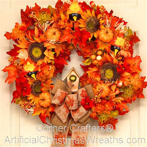 fall wreaths fall country wreath artificialchristmaswreaths