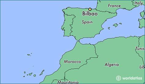 map of spain bilbao where is bilbao spain where is bilbao spain located