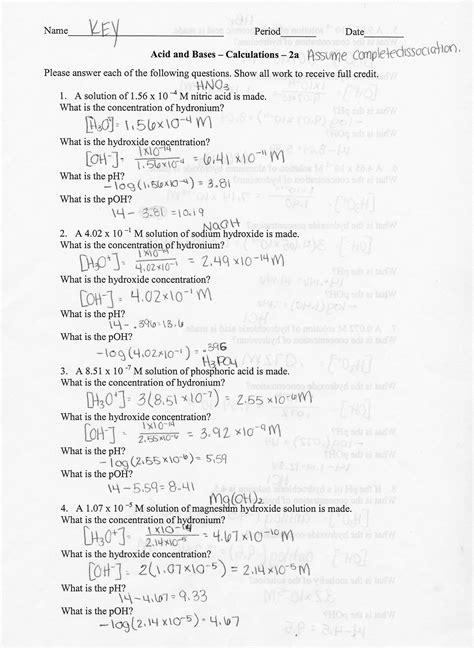 12 1 Stoichiometry Worksheet Answers